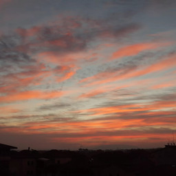 photography phonephotography sky skyred clouds local nofilters landescap freetoedit