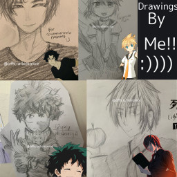 freetoedit animedrawing anime devilmancrybaby vocaloid bnha deathnote