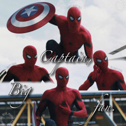 peterparker spiderman captainamericacivilwar marvel