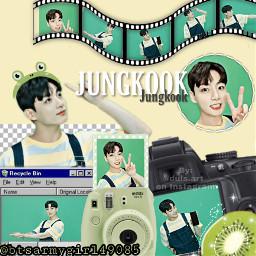 freetoedit green overlay complex jungkook bts aesthetic