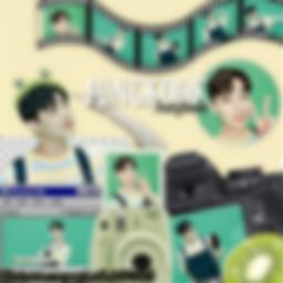 blur green greenaesthetic jungkook freetoedit
