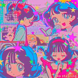 freetoedit animegirl musicvideo yandere sukisukidaisuki complex complexedit neon
