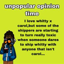 freetoedit unpopularopinion isthisevenanopinionlol whittyxcarol whitty fnf fnfcarol opinion