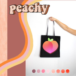 designabag peachaesthetic peachy freetoedit picsart ircdesignthebag designthebag