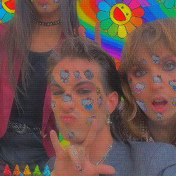 freetoedit q a ethantorchio thomasraggi damianodavid maneskin maneskinethan maneskinthomas maneskindamiano kidcore rockband aesthetic replay trythis cute aestheticreplay 90sstickers colorful colorbomb måneskinethan rainbowcore måneskin måneskinedit måneskinthomas