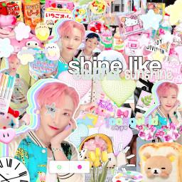 freetoedit seonghwa ateez kpop choijongho complex graphic pink cute soft dejavu joongwrld