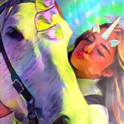 freetoedit picsart srcunicornhorn unicornhorn