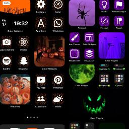 tel ios14 halloween widget