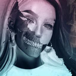 freetoedit halloween negativeeffect