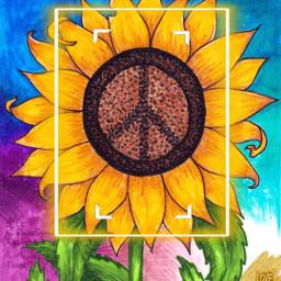 love peace freetoedit local srcyellowfocusframe yellowfocusframe