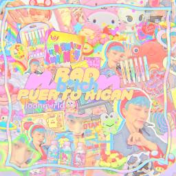 san choisan ateez atiny graphic kpop ranmick joongwrld cute rainbow freetoedit