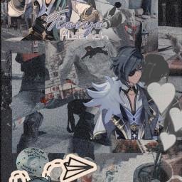 freetoedit kaeya anime edit lol