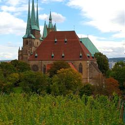 erfurt buga2021 petersberg cathedral church religion architecture