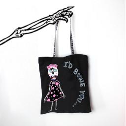 humor skeleton idboneyou design bag ty freetoedit picsart bag