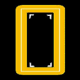 neonamarela neon luzdeneon quadrado moldura molduraamarela light luzamarela freetoedit default yellowfocusframe